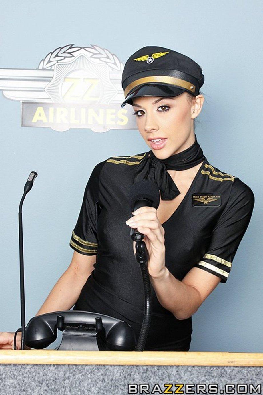 Стюардесса сдаёт экзамен секс 14 фотография
