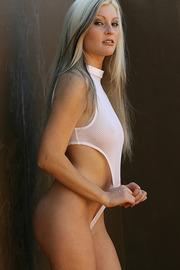 Macie Meyers In White Body-01