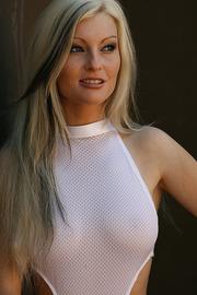 Macie Meyers In White Body-08